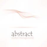 Abstracte roze golfachtergrond Vector illustratie Royalty-vrije Stock Fotografie