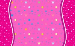 Abstracte roze kleur als achtergrond, Stock Afbeelding