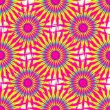 Abstracte roze sterren op een witte vectorillustratie als achtergrond Royalty-vrije Stock Afbeeldingen