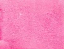 Abstracte roze waterverfachtergrond Het decoratieve scherm royalty-vrije stock afbeelding