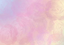 Abstracte rozenachtergrond stock foto