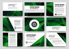Abstracte samenstelling, adreskaartjereeks, de inzameling van de correspondentiebrief, het blad van de brochuretitel, certificaat Royalty-vrije Stock Fotografie