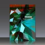 Abstracte samenstelling, substantiemacromolecule, chemisch elementendeeltje, de bio hoofdpagina van het onderzoektijdschrift, a4  Royalty-vrije Stock Afbeeldingen