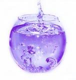 Abstracte samenstelling van water Royalty-vrije Stock Foto's