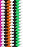 abstracte schalen eenvoudige achtergrond met het mariene groene oranje roze zwarte wit van het cirkelpatroon Toepasselijk voor Aa vector illustratie