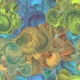 Abstracte schilderachtige het schilderen achtergrond met levendige penseelstreek en artistieke borstelstexturen royalty-vrije stock foto