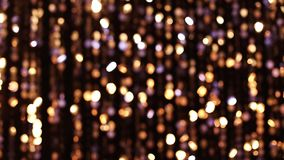 Abstracte schitterende lichten stock videobeelden