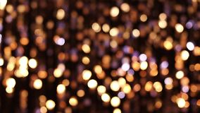 Abstracte schitterende lichten stock footage