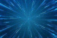 Abstracte science fiction futuristische achtergrond Royalty-vrije Stock Afbeeldingen