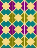 Abstracte sier geometrisch stock illustratie