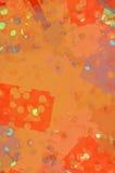 Abstracte Sinaasappel Royalty-vrije Stock Afbeelding