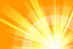 Abstracte Sinaasappel stock illustratie