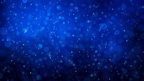 Abstracte sneeuwachtergrond Royalty-vrije Stock Afbeelding