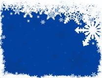 Abstracte sneeuwachtergrond Royalty-vrije Stock Foto's
