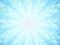 Abstracte sneeuwvlok Stock Afbeeldingen