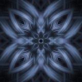 Abstracte sneeuwvlok vector illustratie