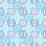 Abstracte sneeuwvlok van geometrische vormen Royalty-vrije Stock Afbeeldingen
