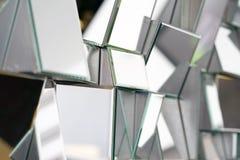 Abstracte spiegel Close-up stock afbeeldingen