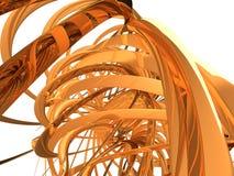 Abstracte Spiraal Stock Foto's