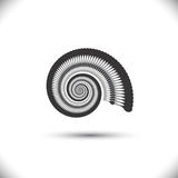Abstracte spiraal of werveling Royalty-vrije Stock Afbeelding