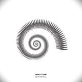 Abstracte spiraal of werveling Royalty-vrije Stock Afbeeldingen