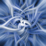 Abstracte spiraalvormige achtergrond Stock Afbeeldingen