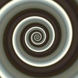 Abstracte spiraalvormige achtergrond Stock Foto's