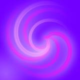 Abstracte Spiraalvormige lichteffectachtergrond Royalty-vrije Stock Fotografie