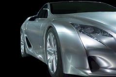 Abstracte Sportwagen Royalty-vrije Stock Afbeeldingen