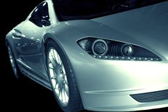 Abstracte Sportwagen 3 Stock Foto's