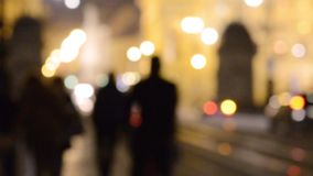 Abstracte stadsachtergrond stock video