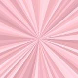 Abstracte starburstachtergrond van radiale strepen royalty-vrije illustratie