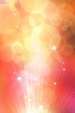 Abstracte ster gouden achtergrond Royalty-vrije Stock Afbeeldingen