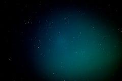 Abstracte ster op nachthemel Stock Fotografie