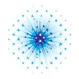 Abstracte sterren Royalty-vrije Stock Fotografie