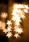 Abstracte sterren met aardige kleur. Royalty-vrije Stock Afbeeldingen