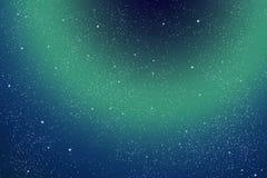 Abstracte sterrige hemel/ruimte/ Royalty-vrije Stock Foto's