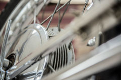 De Dekking van de Trommel van het Wiel van de motorfiets Stock Afbeelding