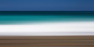 Abstracte strandkleuren Stock Foto
