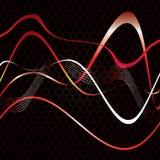 Abstracte strepen op textuur. Stock Afbeelding