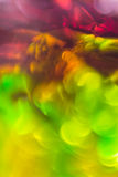 Abstracte stromende kleur Als achtergrond over tinfolie Royalty-vrije Stock Foto