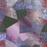 Abstracte structuur als achtergrond van roze en violet marmer stock illustratie