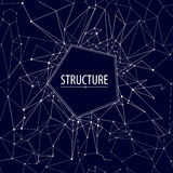 Abstracte structuur Vector illustratie Naadloos patroon Stock Foto