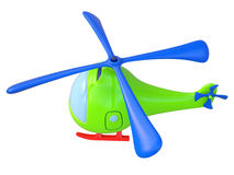 Abstracte stuk speelgoed helikopter Royalty-vrije Stock Fotografie