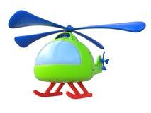 Abstracte stuk speelgoed helikopter Stock Afbeeldingen