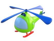 Abstracte stuk speelgoed helikopter Stock Foto's