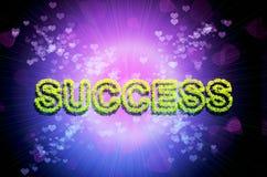 Abstracte succesachtergrond Stock Afbeelding