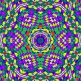 Abstracte symmetrie en kleuren Royalty-vrije Stock Afbeeldingen