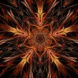 Abstracte symmetrie en kleuren Royalty-vrije Stock Fotografie
