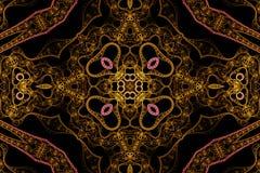 Abstracte symmetrie en kleuren Stock Afbeeldingen